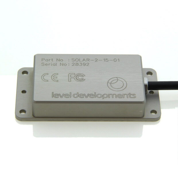 SOLAR-2-05-2-RS485M - Inclinometer Sensor & Tilt Sensor